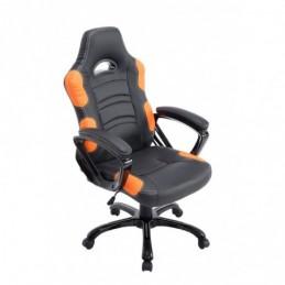 Silla de oficina Ricardo - negro / naranja