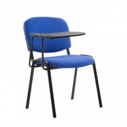 Ken silla con tela de mesa plegable - azul