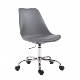 plástico silla de oficina Toulouse - gris
