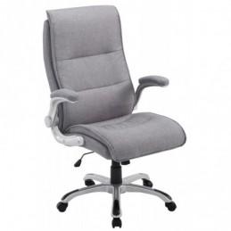 silla de oficina material de BIG Villach - gris claro