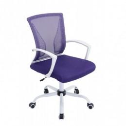 silla de oficina Tracy W - púrpura