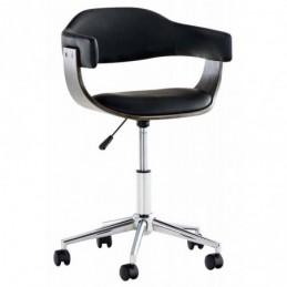 silla de oficina Brujas gris - negro