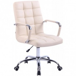 silla de oficina Deli - crema