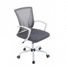 silla de oficina Tracy W - gris