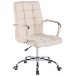tela de la silla de oficina Deli - crema
