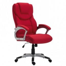 tela de la silla de oficina de Texas V2 - rojo