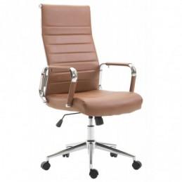 silla de oficina Columbus - marrón