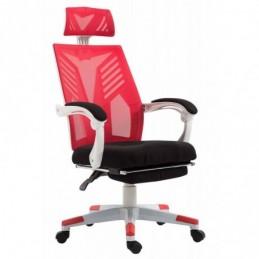 silla de oficina inteligente W - Negro / rojo