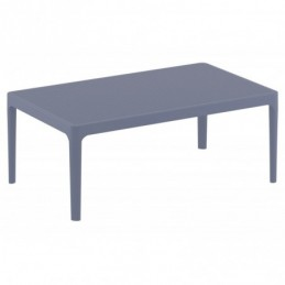 Lounge Table Sky - gris oscuro
