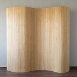 Paravent, Biombo de bambú marrón 200x250