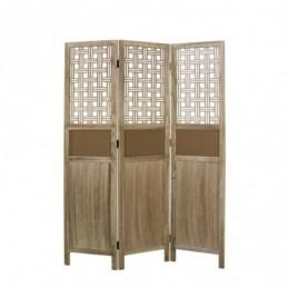 Paravent, Biombo madera 3 paneles claro