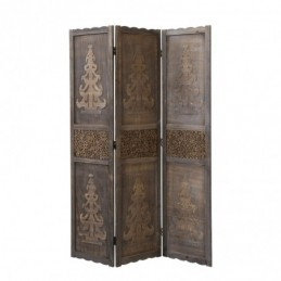 Paravent, Biombo madera 3 paneles